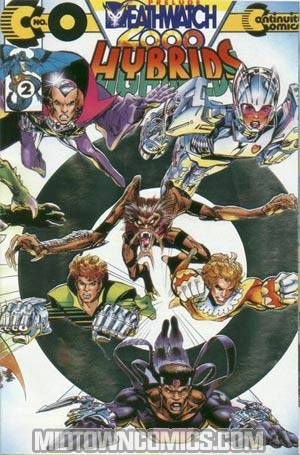 Hybrids Deathwatch 2000 #0 Silver Foil Cover With Polybag