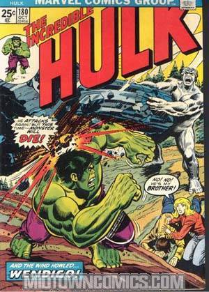 Incredible Hulk #180 Cover A Regular Edition