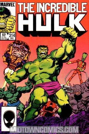 Incredible Hulk #314 Cover A 1st Ptg