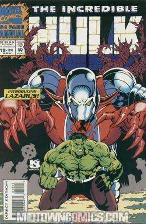 Incredible Hulk Annual #19 Cover A With Polybag