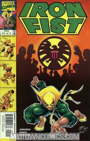 Iron Fist Vol 3 #2