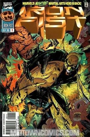 Iron Fist Vol 2 #1