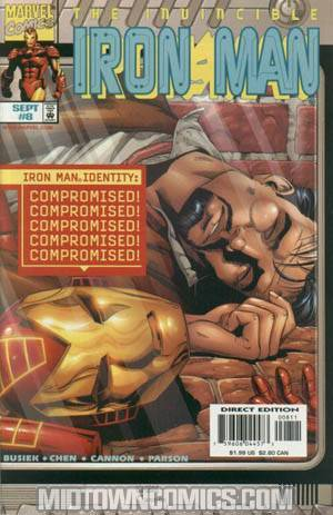 Iron Man Vol 3 #8