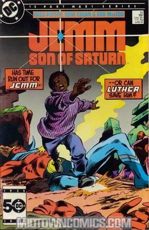 Jemm Son Of Saturn #10