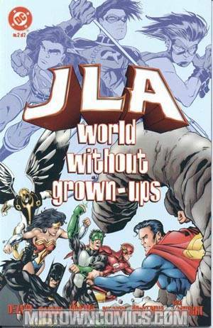 JLA World Without Grown Ups #2
