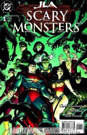 JLA Scary Monsters #1