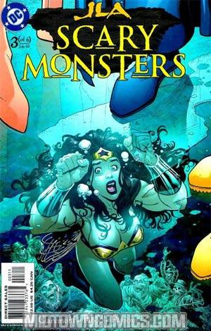 JLA Scary Monsters #3