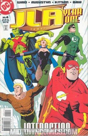 JLA Year One #4