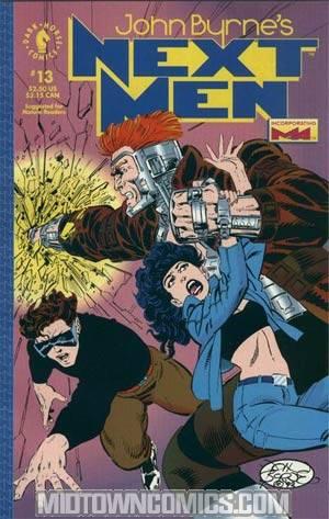 John Byrnes Next Men #13