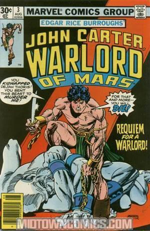 John Carter Warlord Of Mars #3 Reg Cvr