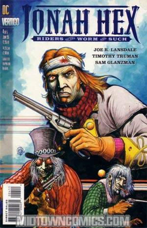 Jonah Hex Riders Of The Worm And Such #4
