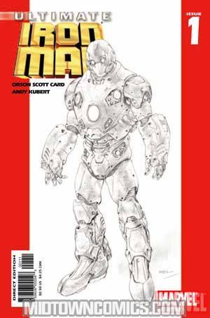 Ultimate Iron Man #1 Ltd Ed Variant