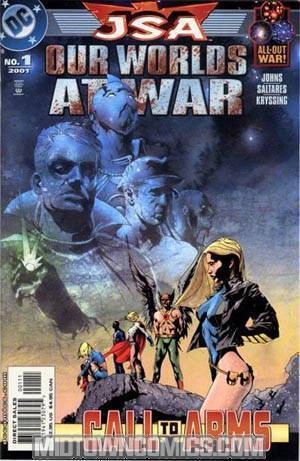 JSA Our Worlds At War #1