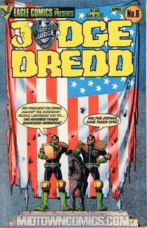 Judge Dredd Vol 1 #6