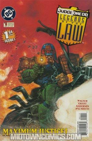 Judge Dredd Legends Of The Law #1