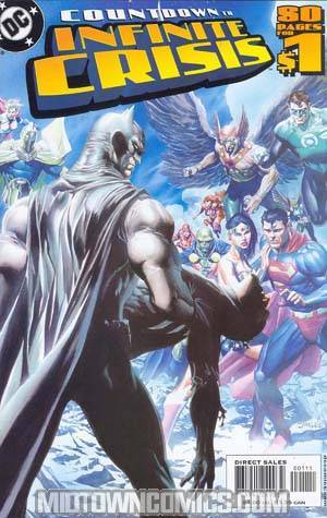 DC Countdown To Infinite Crisis #1 Cover D 1st Ptg Signed By Phil Jimenez