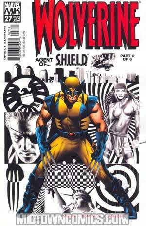 Wolverine Vol 3 #27 Cover A Greg Land Cover