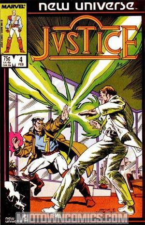 Justice #4 (New Universe)