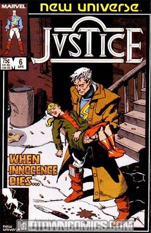 Justice #6 (New Universe)