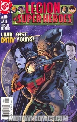 Legion Of Super-Heroes Vol 5 #5