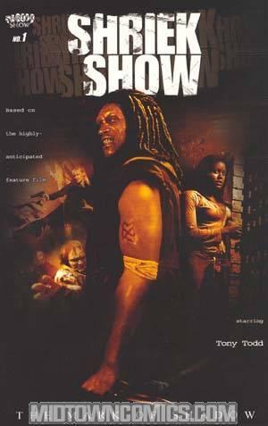 Shriek Show Mark Of Shadow #1