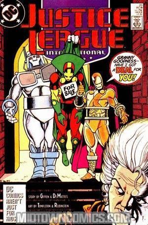 Justice League International #20