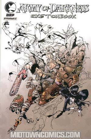 Army Of Darkness Shop Til You Drop Dead #1 Cover F Incentive Bradshaw Sketchbook Edition