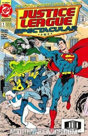 Justice League Spectacular #1 Cvr B (Superman)