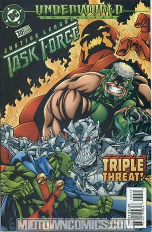 Justice League Task Force #30