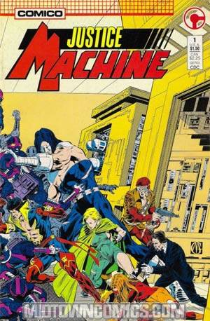 Justice Machine Vol 2 #1