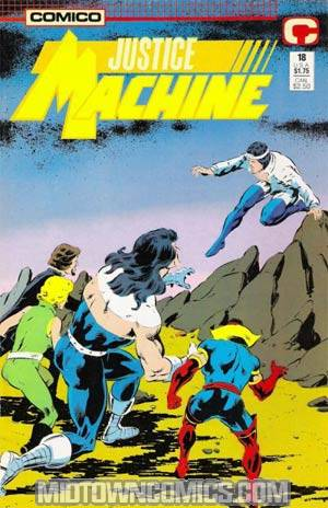 Justice Machine Vol 2 #18