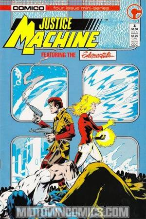 Justice Machine Featuring The Elementals #4