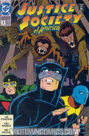 Justice Society Of America Vol 2 #3