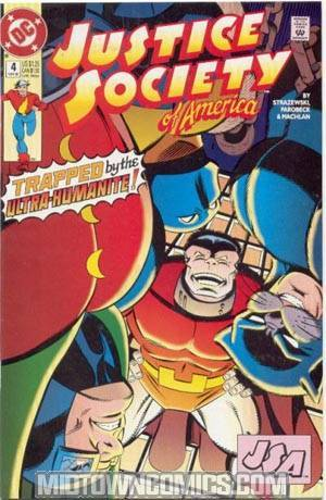 Justice Society Of America Vol 2 #4