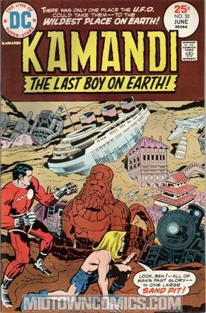 Kamandi The Last Boy On Earth #30