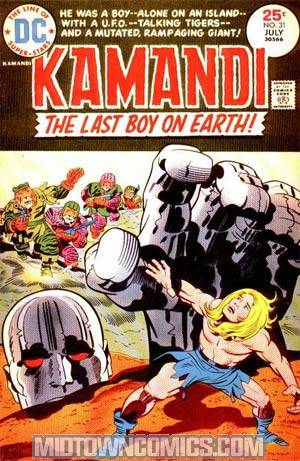 Kamandi The Last Boy On Earth #31