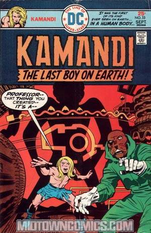 Kamandi The Last Boy On Earth #33