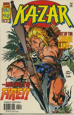 Ka-Zar Vol 2 #1 Cover B 2nd Ptg