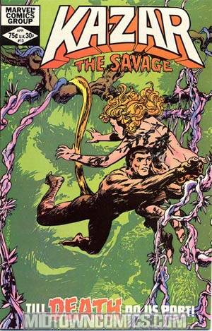 Ka-Zar The Savage #13