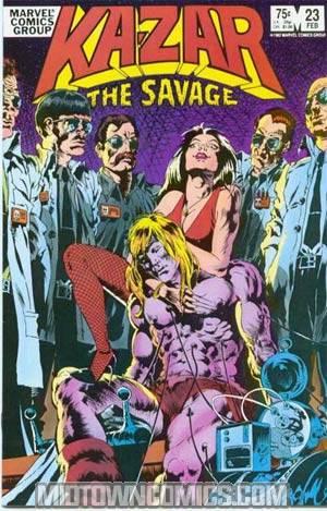 Ka-Zar The Savage #23