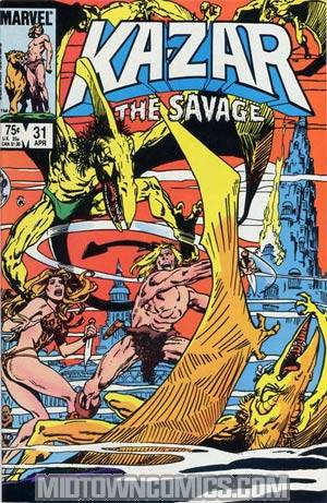 Ka-Zar The Savage #31
