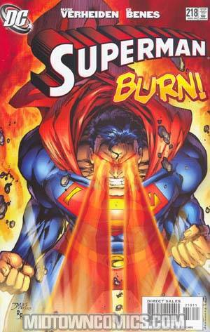 Superman Vol 2 #218