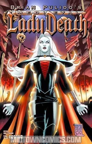 Brian Pulidos Medieval Lady Death #3 Premium Cvr