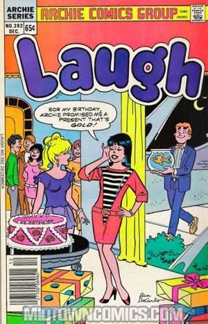 Laugh Comics #392