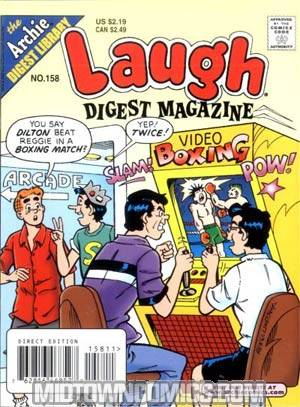 Laugh Digest Magazine #158