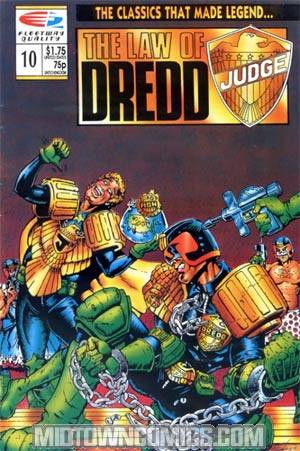 Law Of Dredd #10