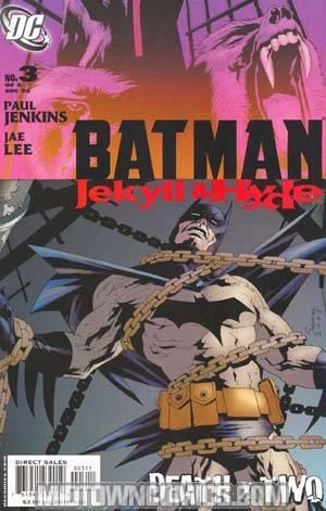 Batman Jekyll And Hyde #3