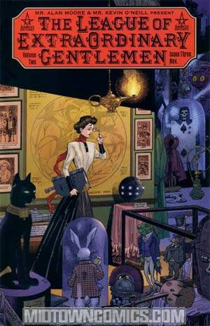 League Of Extraordinary Gentlemen Vol 2 #3