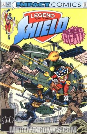 Legend Of The Shield #2