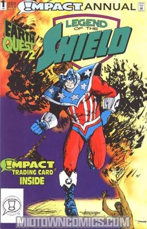 Legend Of The Shield Annual #1 With Card